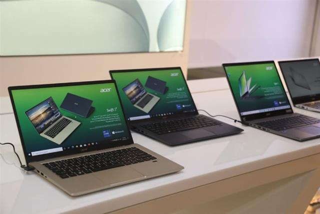 Acer saw commercial notebook sales in the US more than doubled on year in 2020
