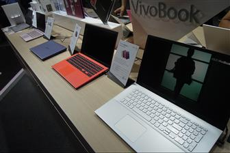 Top-5 brands' combined notebook shipments went down 8% on month in February
